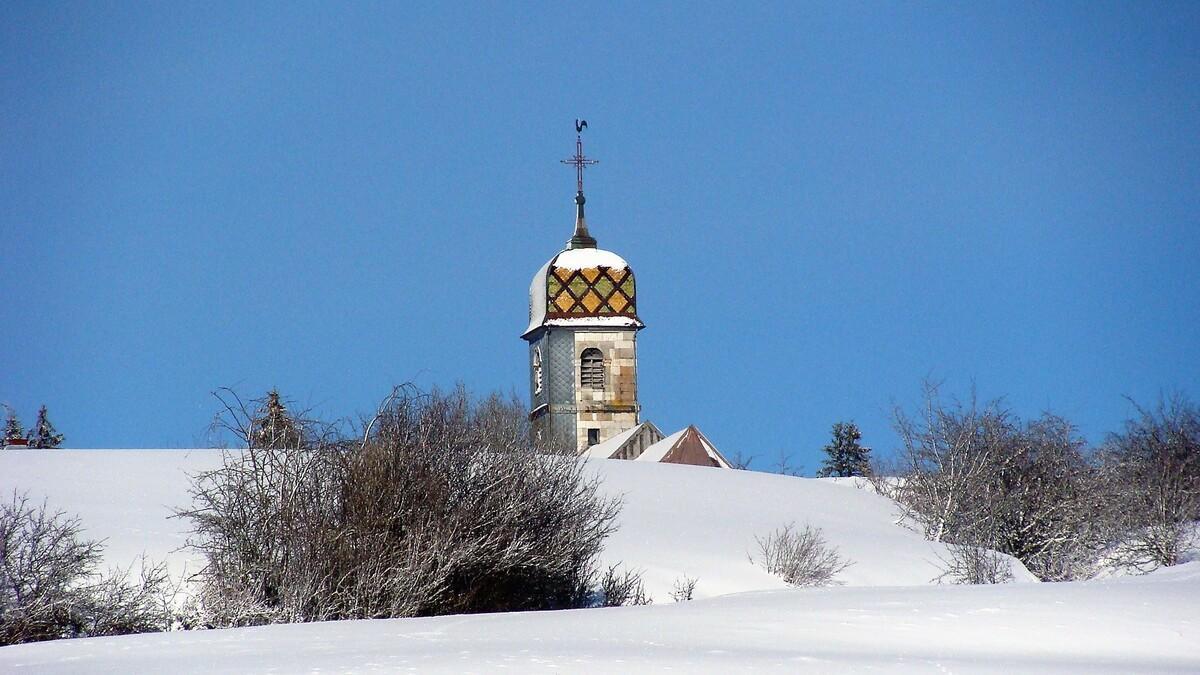 Eglise vue des chargenets