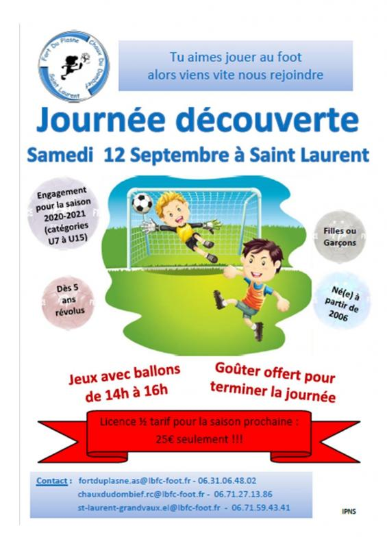 Journee decouverte foot